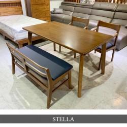 스텔라 4인테이블[의자2,벤치1SET]